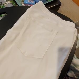 Old Navy Rockstar white jeans